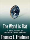 Book cover for The World Is Flat by Thomas L. Friedman